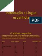Introdução a Língua espanhola