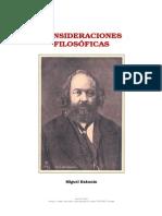 8913319 Bakunin Consideraciones Filosoficas[1]