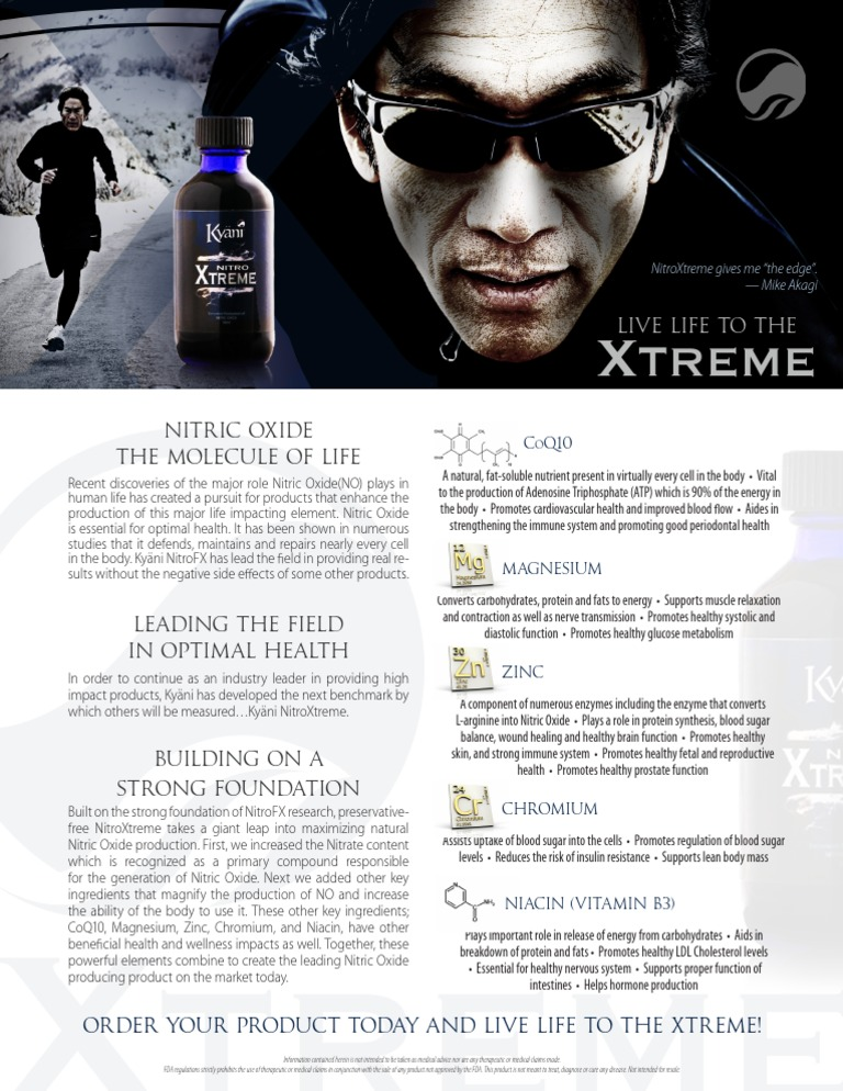 Kyani Xtreme Carbohydrates Nitric Oxide