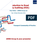 [T6] ARRB Introduction to Road Safety Audit Training - Day 1
