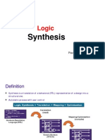 Logic Synthesis 1 PavanKV