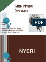 RD Manajemen Nyeri Presentation Slide