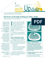 Power of Strength Training for Older Adults