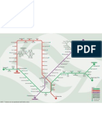 Singapore Metro Routemap