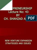 Entrepreneurship - MGT602 Power Point Slides Lecture 43