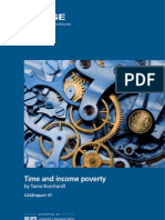 Time and Income Poverty by Tania Burchardt