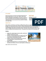 Hotels4U Mexico Travel Guide