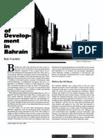 Migrant Labor and the Politics of Development in Bahrain (1985)