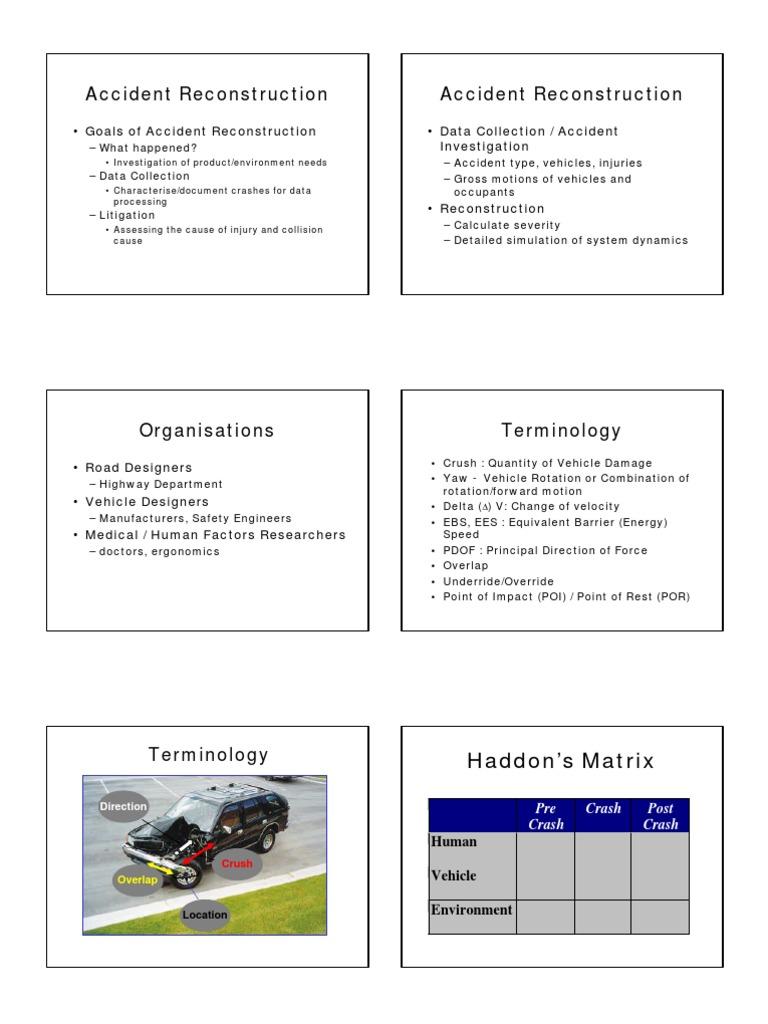 Comfortable Car Accident Reenactment Photos - Simple Wiring Diagram ...