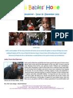September Newsletter 2012 - SBH