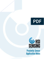 HSI Sensing Proximity Sensor Appliction Notes