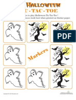 Halloween Tic Tac Toe 2