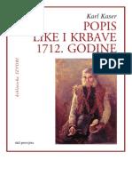 Popis Like i Krbave 1712