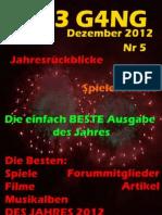 TH3 G4NG - Dezember 2012 - Nr.5