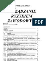 ocena ryzyka zawodowego ksiązka