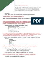 TASK 7 Questionnaire