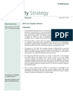 2013 US Equity Outlook