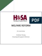 Welfare Reform - an overview