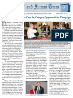 Alumni Newsletter 2008