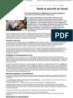 Protection Collective Des Risques Chimiques Ou Biologiques - InRS 2011