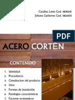 ACERO CORTÉN