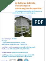 """Curso de verão """"Observações Meteorológicas"""" de 04 a 08 de fevereiro de 2013"""