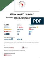 Announcement Afrika Kommt