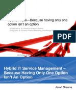 Hybrid Itsm Frontrange Gartner Webcast 9519