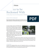 A Force to Be Reckoned With-A Policy Report From the Policing Reform Etc