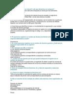 Consideraciones Legales y Seguridad en Internet(I)