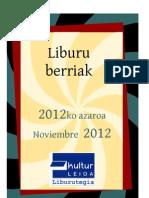 2012ko azaroa -- Noviembre 2012