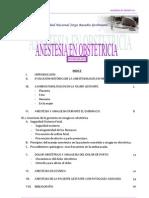 Monografia Anestesia Obstetrica Trabajo Final