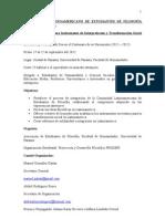 V CONGRESO LATINOAMERICANO DE ESTUDIANTES DE FILOSOFÍA CLEF PANAMÁ 2012 (1)