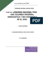 Bases programa verde Colombia