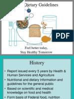 2005 Dietary Guidelines1 Alaska