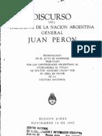EL000062Discurso Peron Sobre Universidad 1947