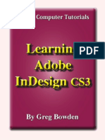 18080888 Learning Adobe InDesign CS3