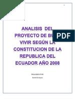 BUEN VIVIR EN LA CONSTITUCIÓN DEL LA REPÚBLICA DEL ECUADOR