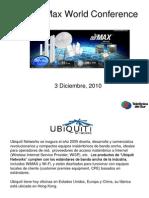 Ubiquiti 2010 AirMax World Conference_V2
