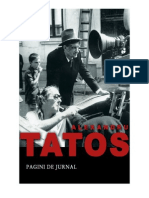28552558 Pagini de Jurnal Alexandru Tatos