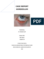 Case Report Hordeolum
