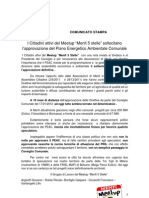 Counicato Stampa PEAC