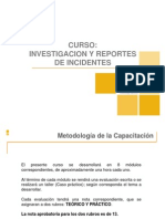Curso - Investigacion y Reporte de Incidentes