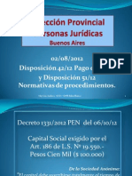 DPPJ Disposiciones 42-12 y 51-12 AGCE 28-11-12