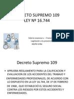 Decreto Supremo 109