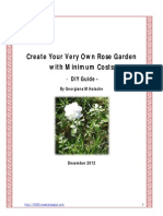 Create Your Very Own Rose Garden With Minimum Costs