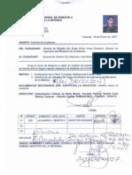 Solicitud de Relevo Del Cargo de Director Nacional de Ingenieria Del Ministerio de La Defensa 24ENE07