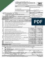 RJC 990 - 2011 - Public Disclosure Copy