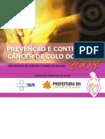 Cartilha - Prevencao e Controle Do CA Do Colo Utero - BH