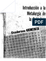 Introduccion a La Metalurgia AWS